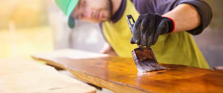 utilisation du bois et la peinture bois